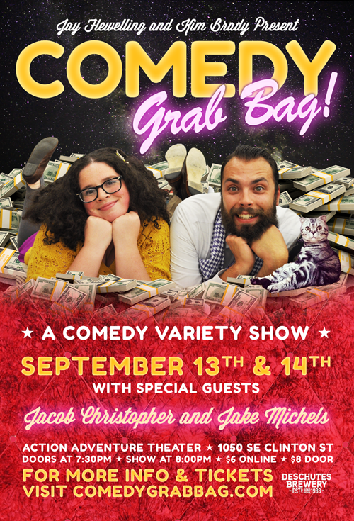 "Comedy Grab Bag ""Money"" Poster"